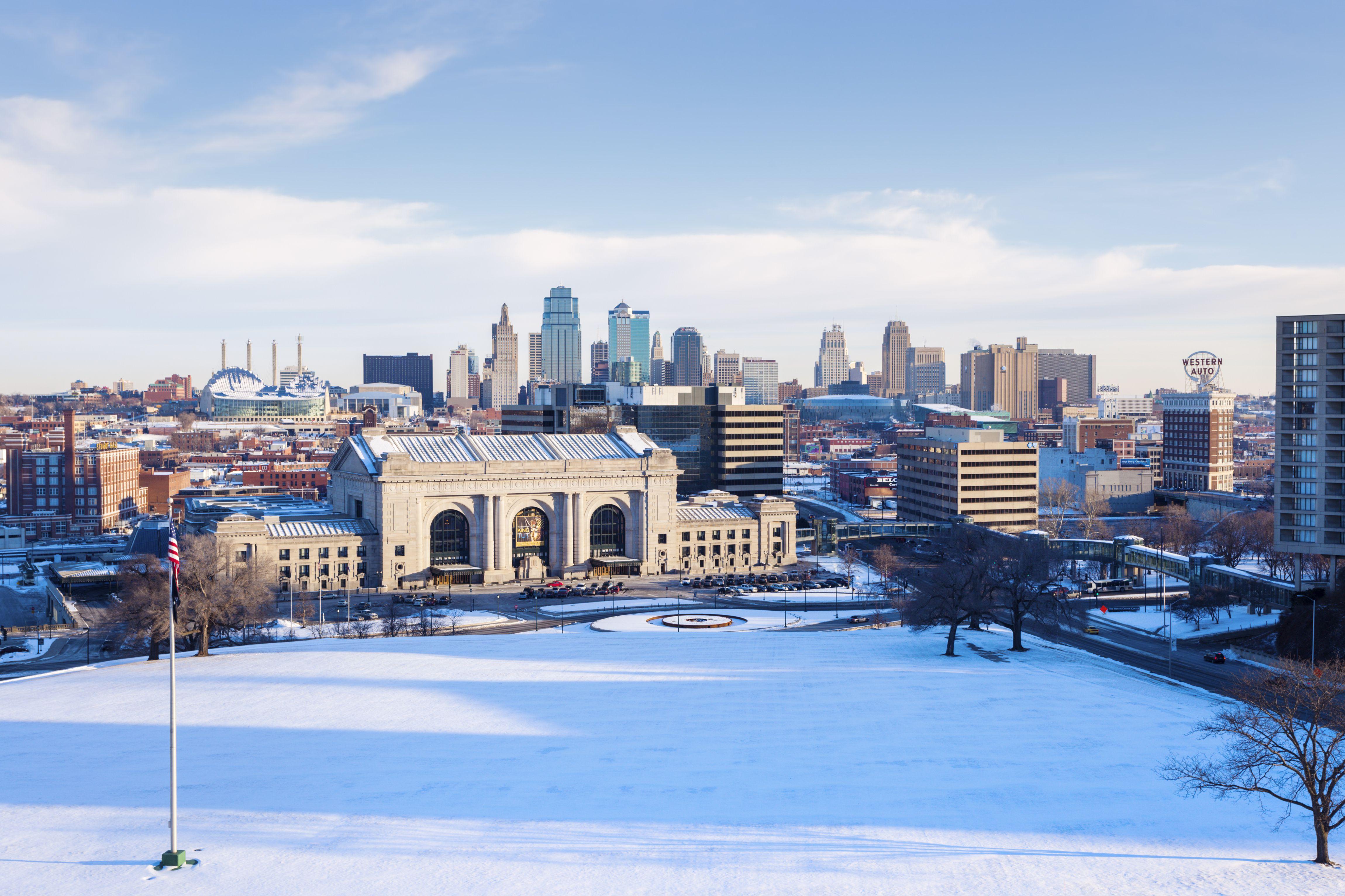 Kansas City Celebrates Christmas In The Park