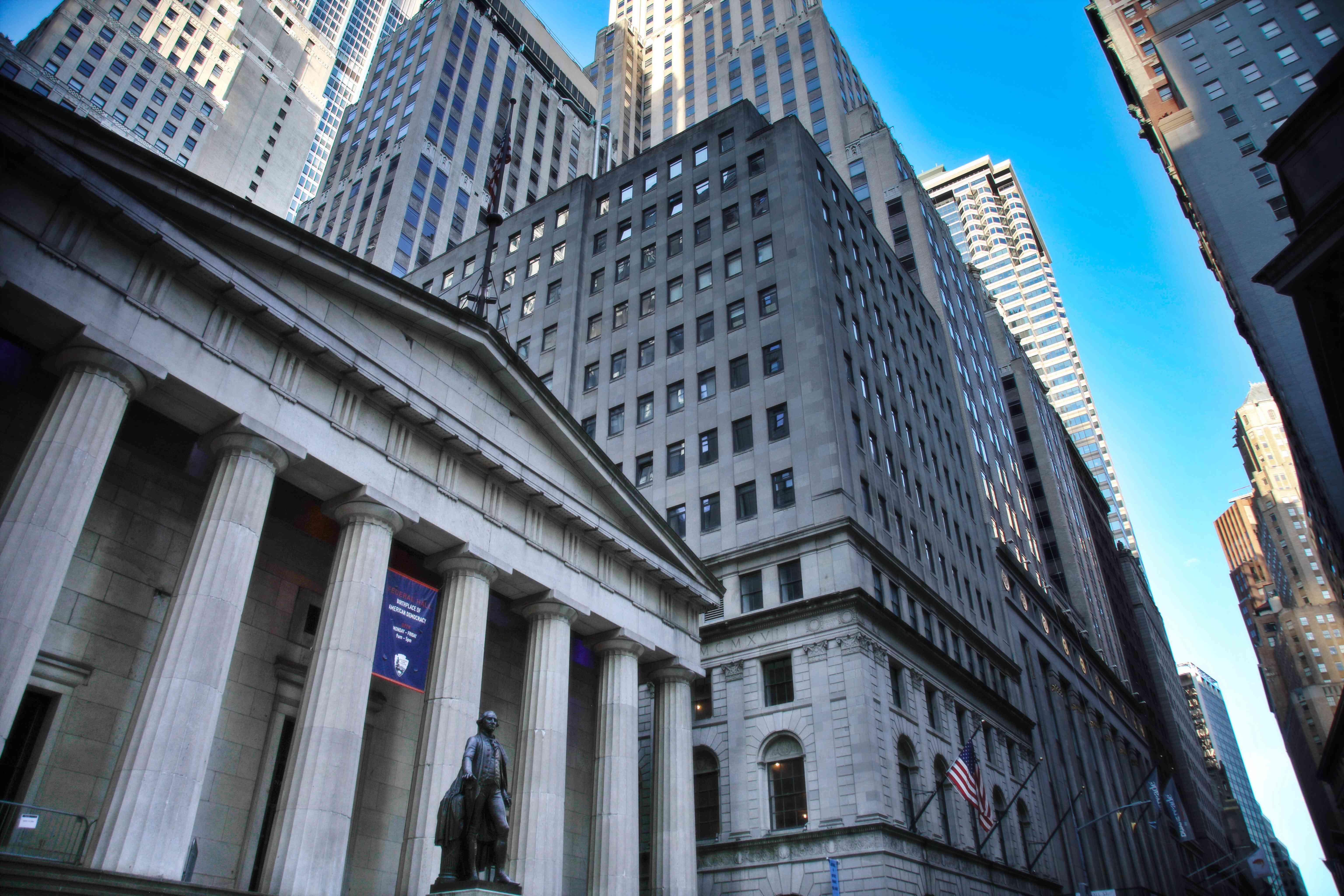 Buildings on Wall Street