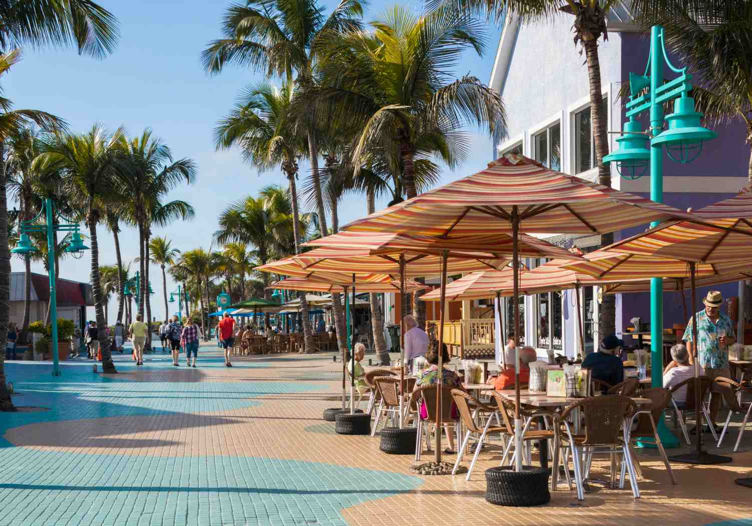 Family-Friendly Times Square in Fort Myers Beach
