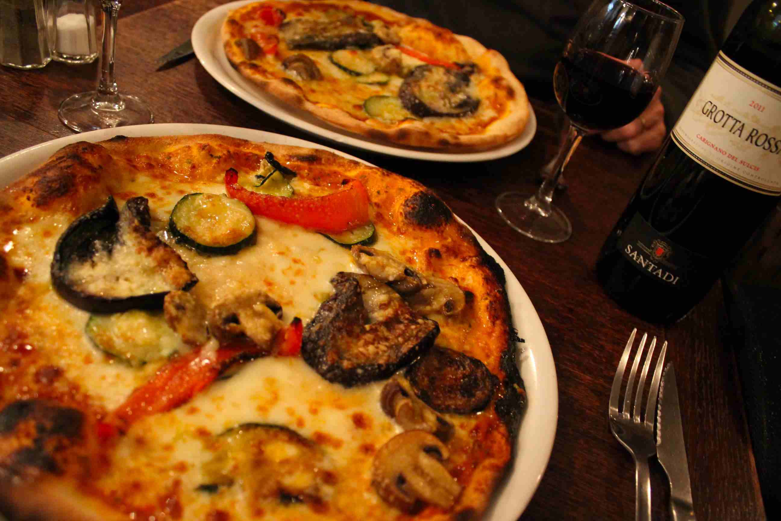 The pizza at Amici Miei in Paris is reputed as some of the best in the capital.