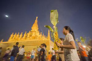 Festival at That Luang, Vientiane, Laos