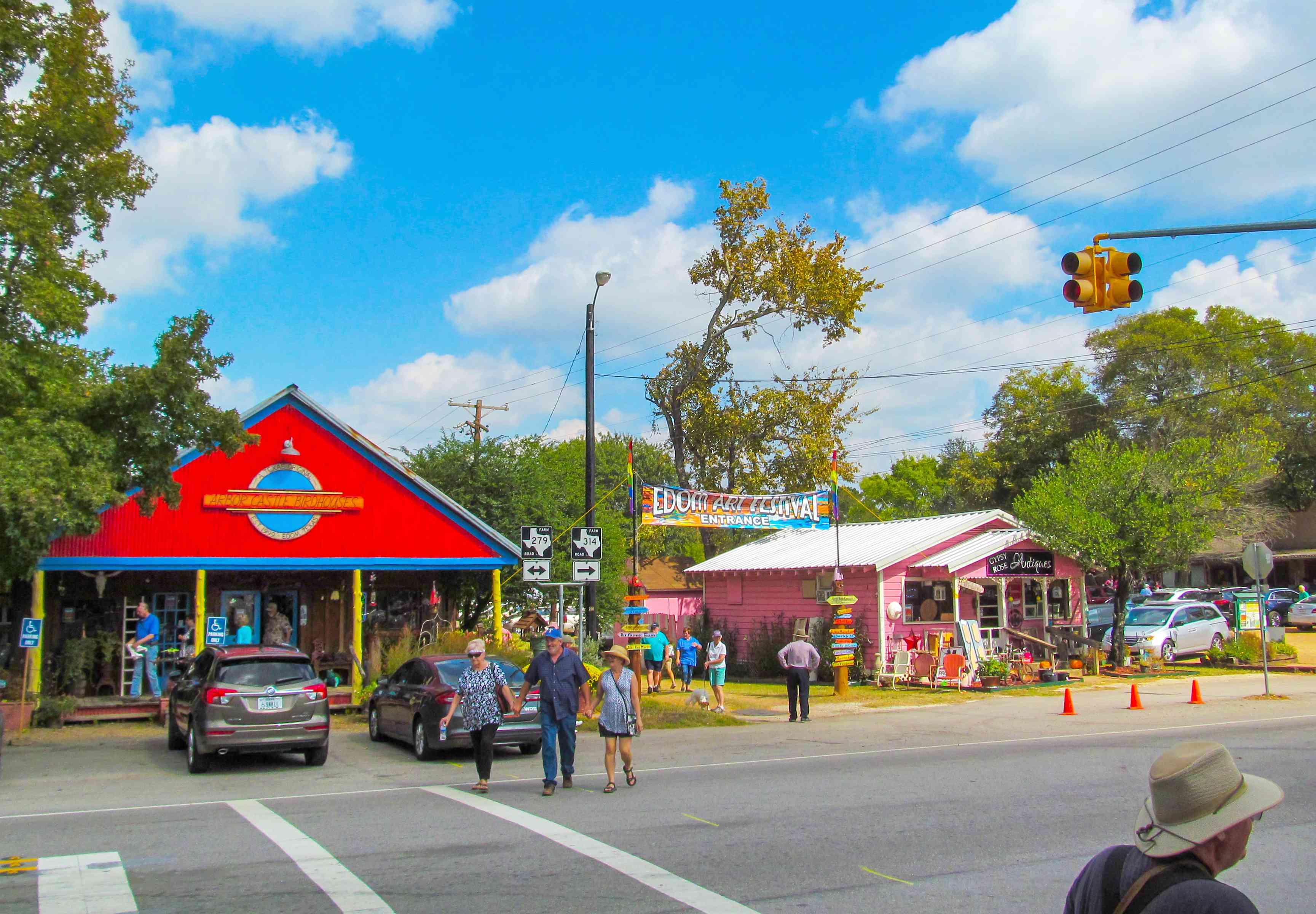 Festival de arte de Edom en Texas