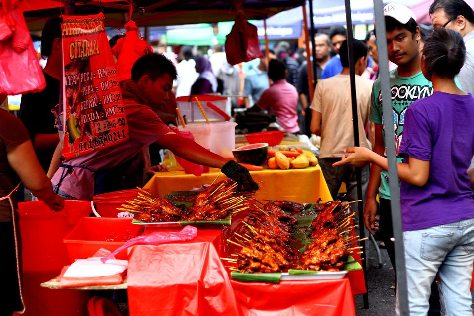 Ramadan Market in Kuala Lumpur, Malaysia