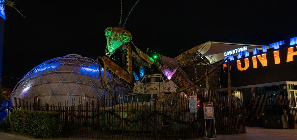 Container Park in Las Vegas
