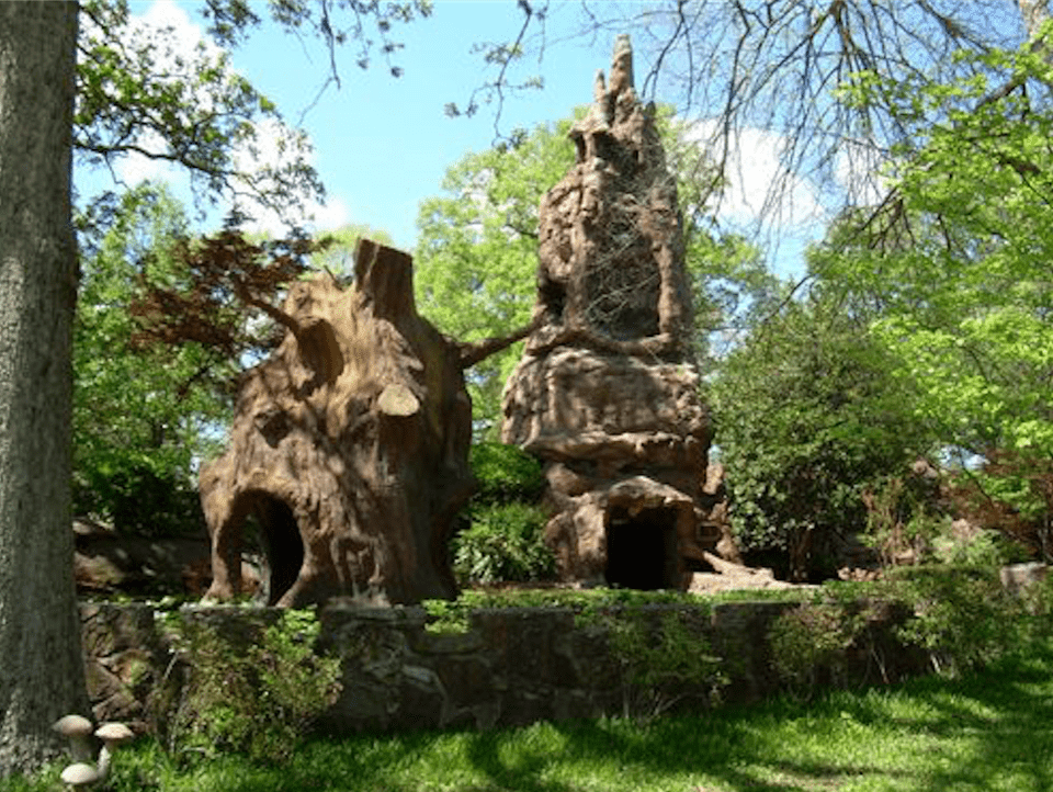 Outside the Crystal Shrine Grotto