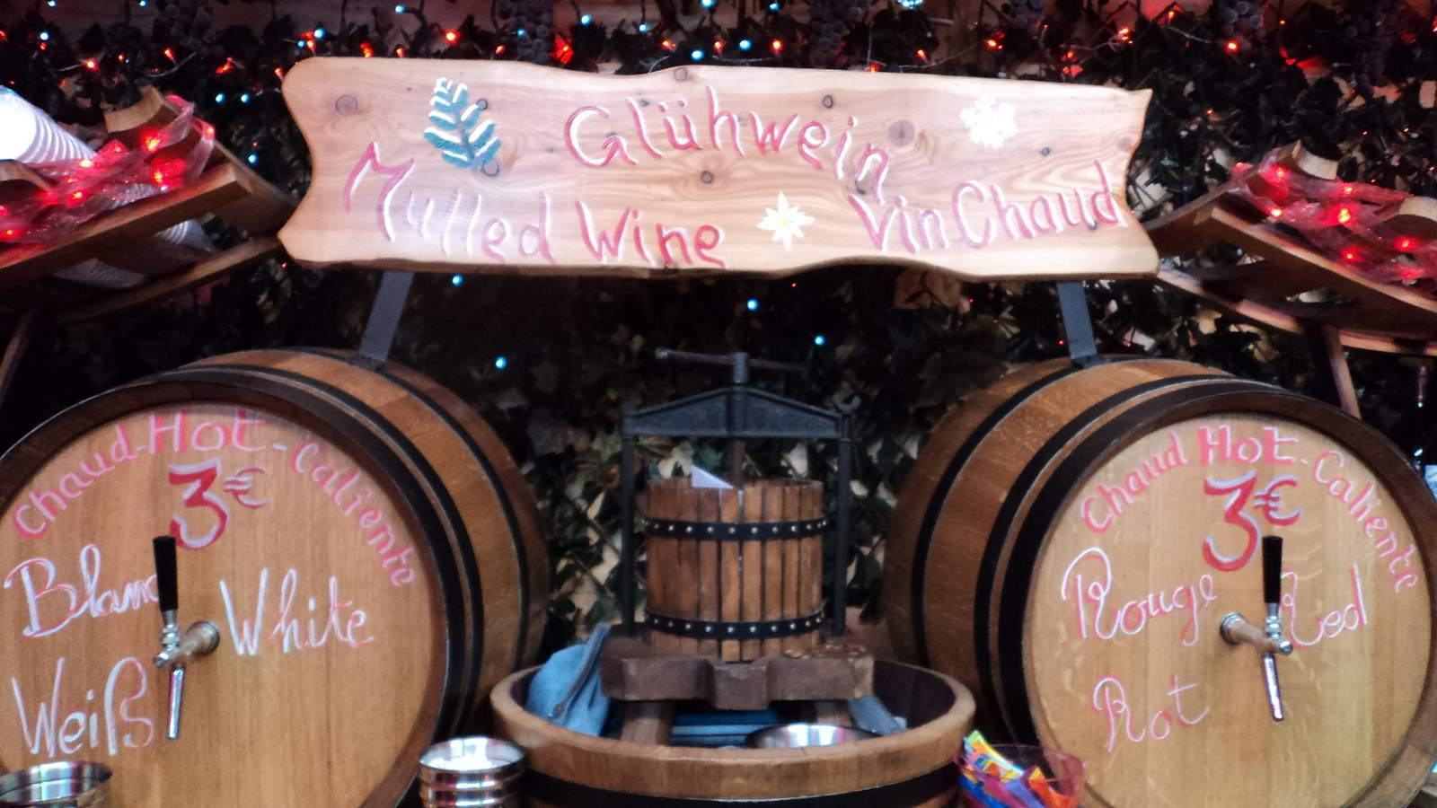 Mulled wine, or