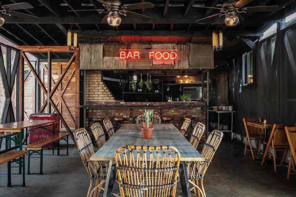 Inside Urban Cowboy Public House bar