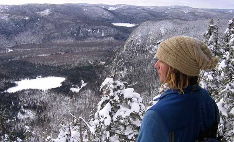 Top winter hikes near Montreal include Vallée Bras-du-Nord