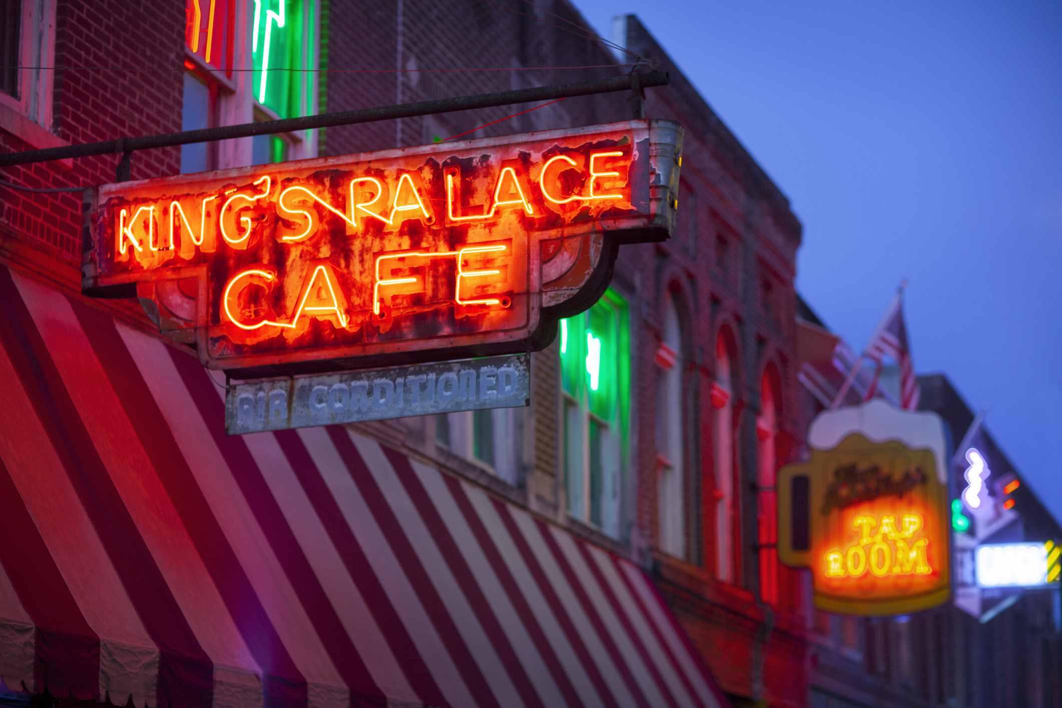 King's Palace Cafe on Beale Street, Memphis, TN