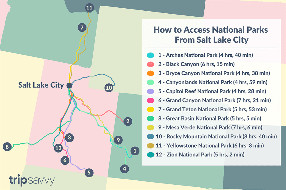 How to Access National Parks From Salt Lake City