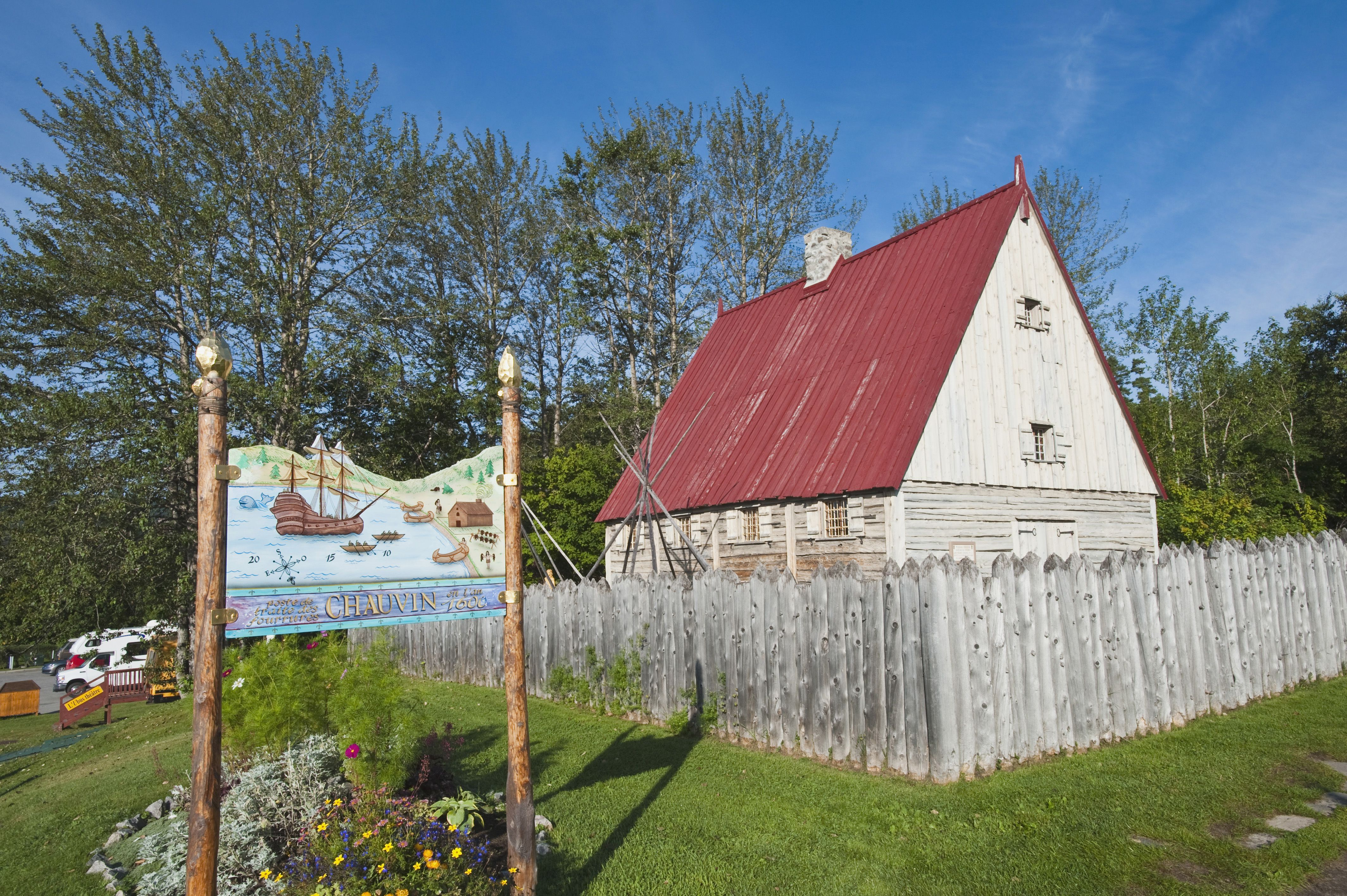 The Chauvin Trading Post, Tadoussac, Quebec, Canada