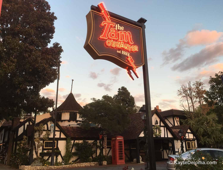 Tam O'Shanter Restaurant in Los Angeles