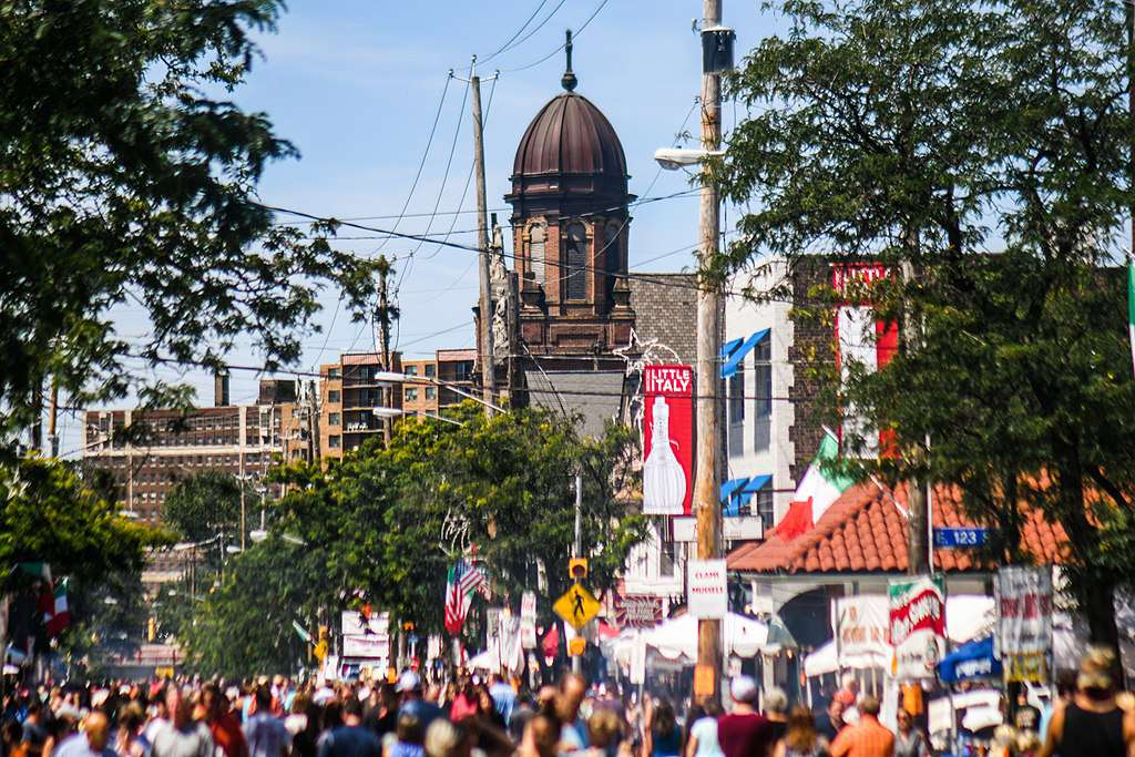 Feast of the Assumption parade, Cleveland