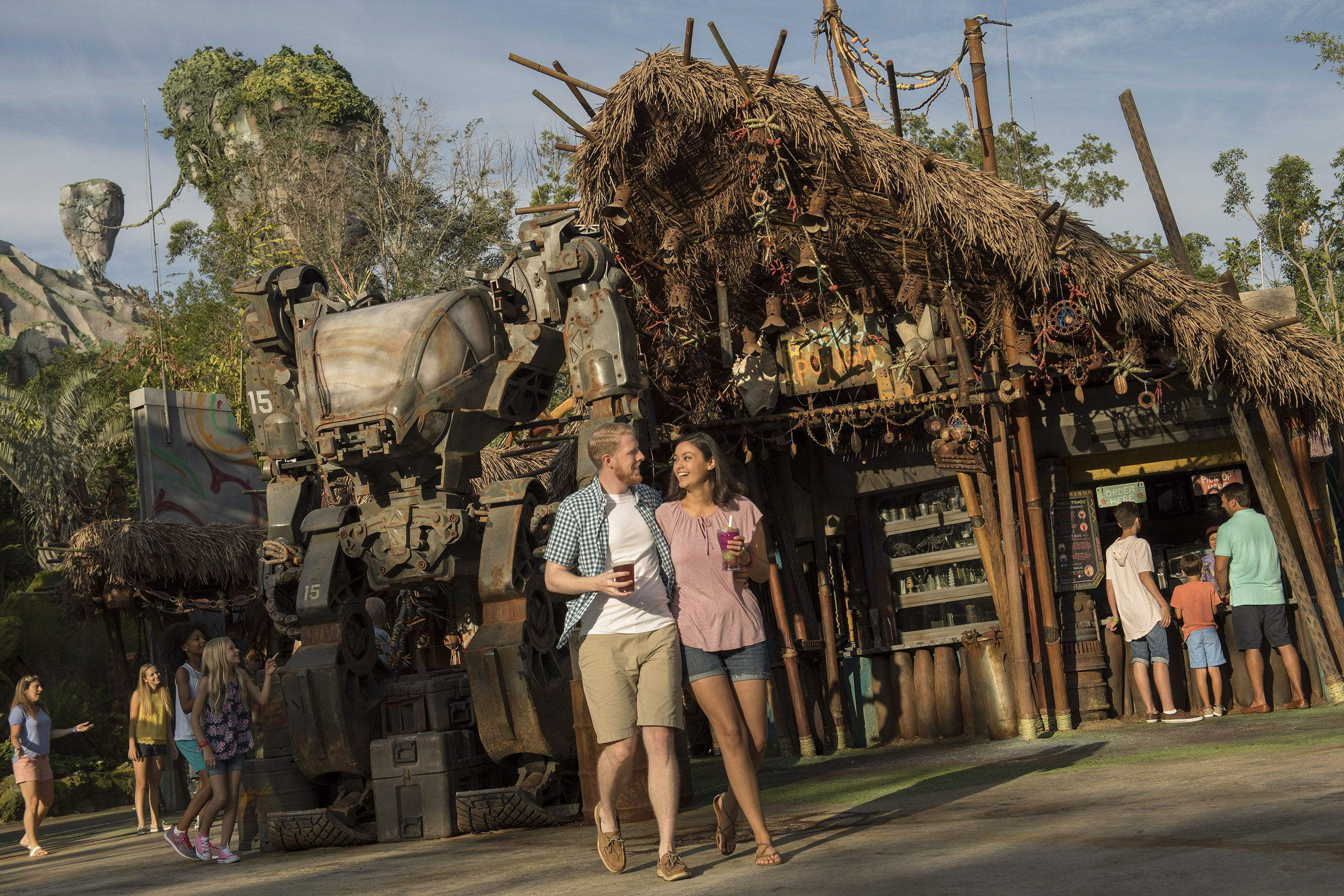 Pandora Exo-Carrier Utility Suit en Disneys Animal Kingdom