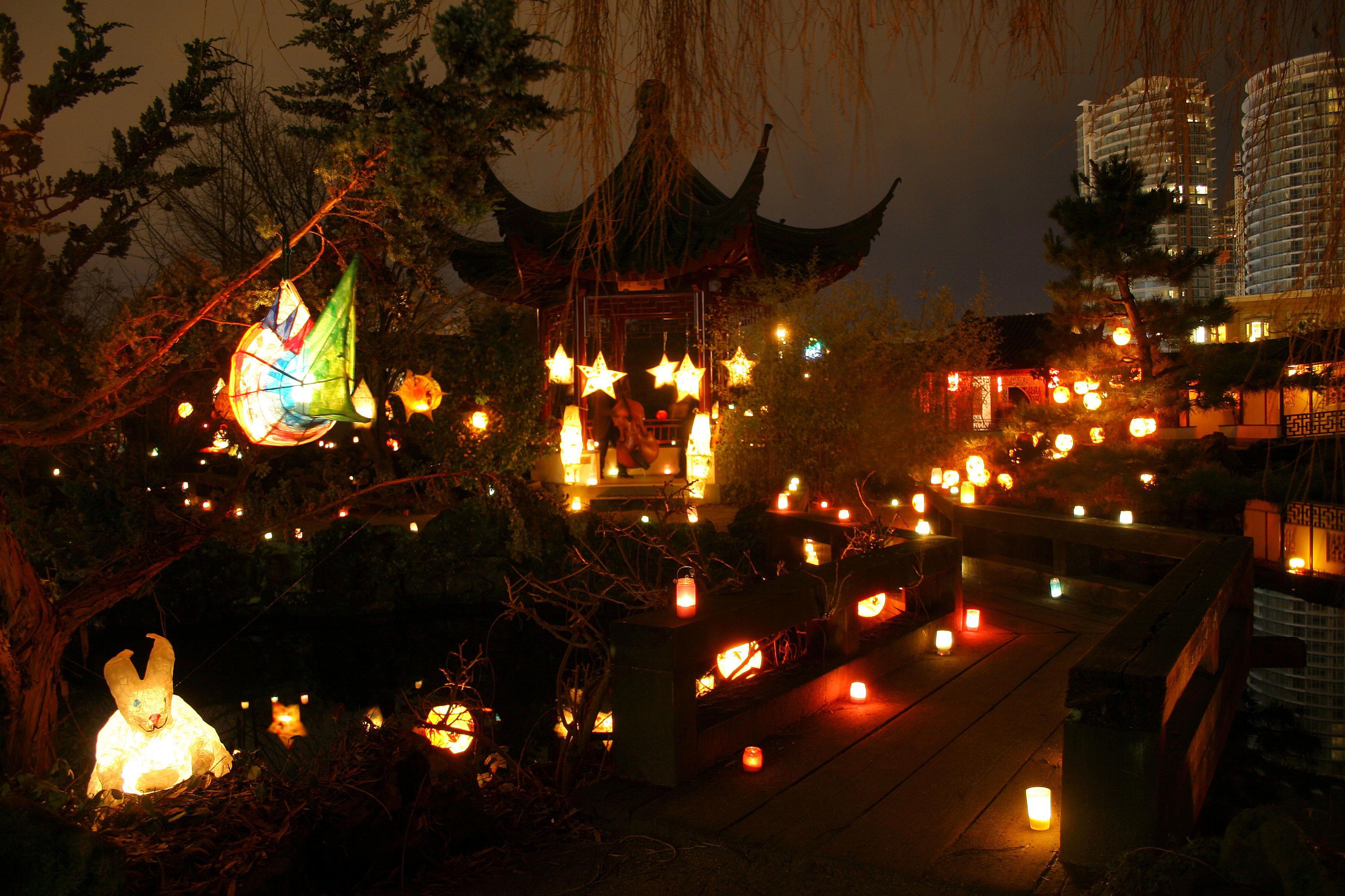 Winter Solstice Festival at Dr. Sun Yat-Sen Chinese Garden, Vancouver