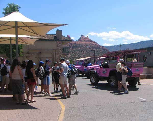 Pink Jeep Adventure Tours, Sedona, Arizona
