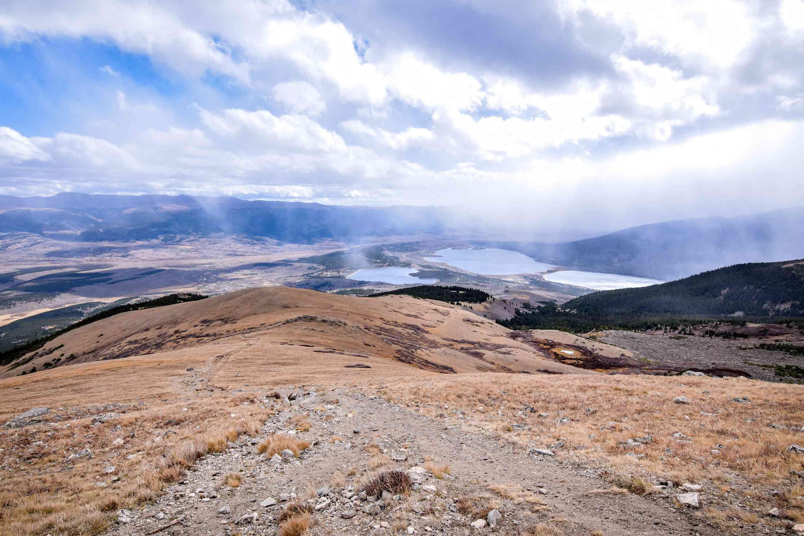 View from Mount Elbert