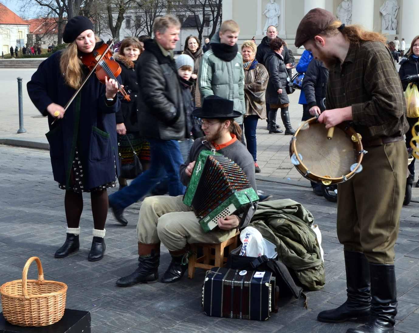 Musicians in Vilnius