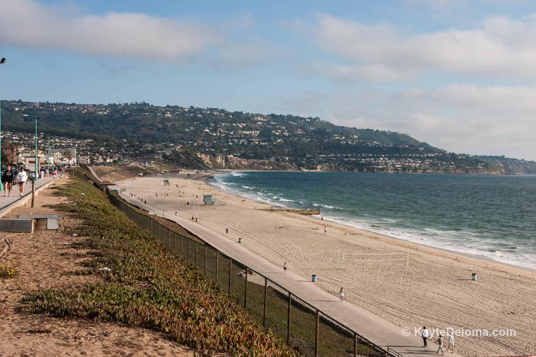 The beach in Redondo Beach, CA