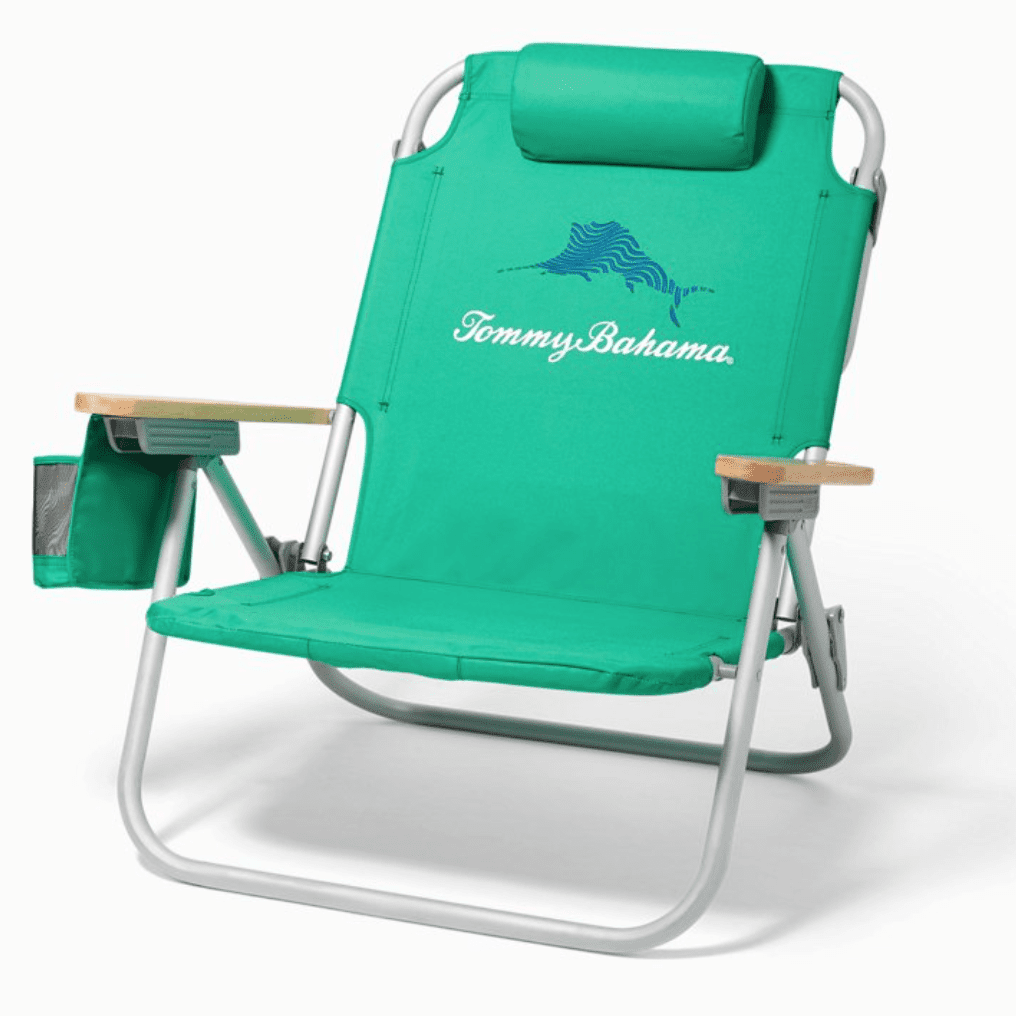Tommy Bahama Wavy Marlin Deluxe Backpack Beach Chair