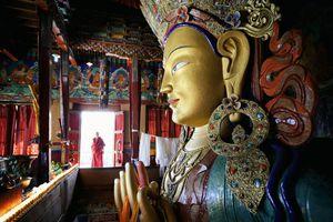 Buddhist monastery of Thiksey
