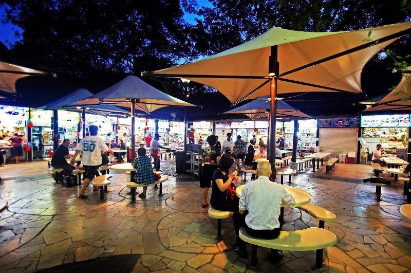 Newton Food Centre hawker center, Singapore