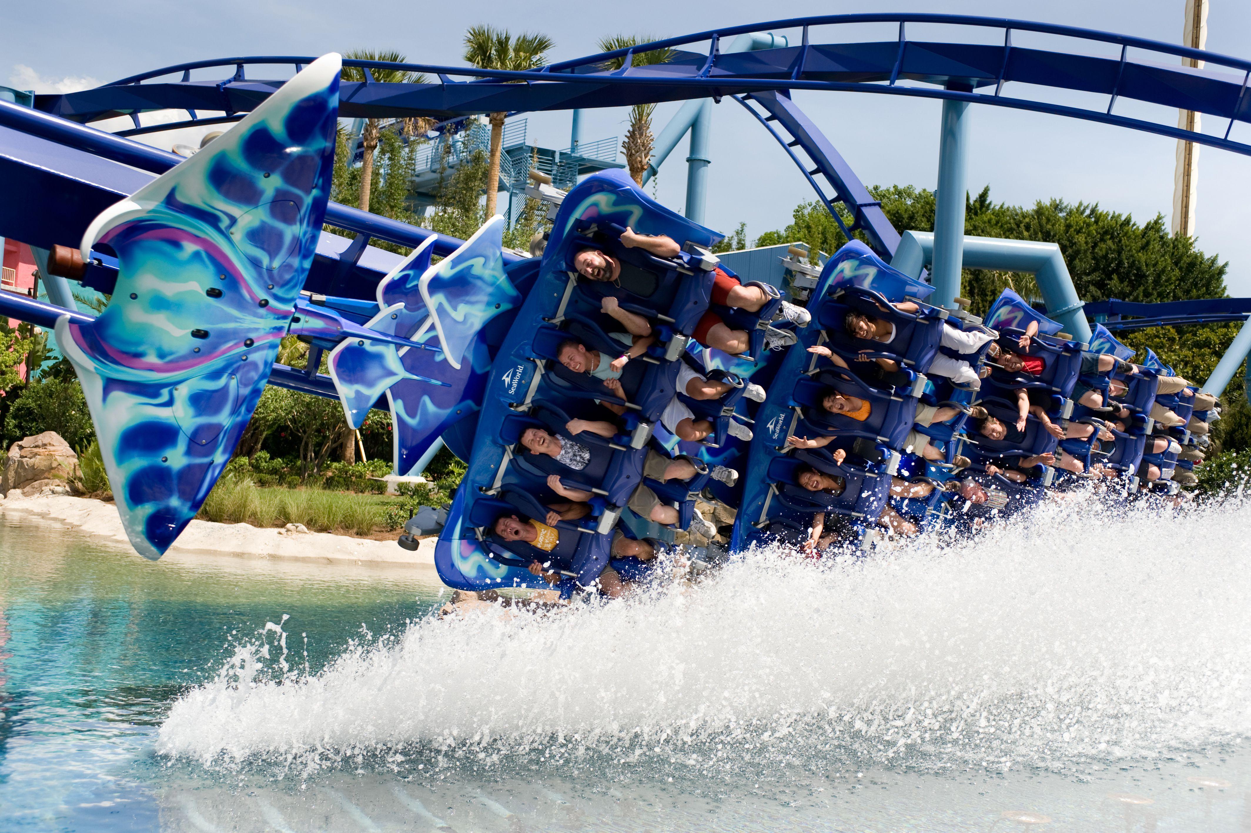 Manta coaster at SeaWorld Orlando