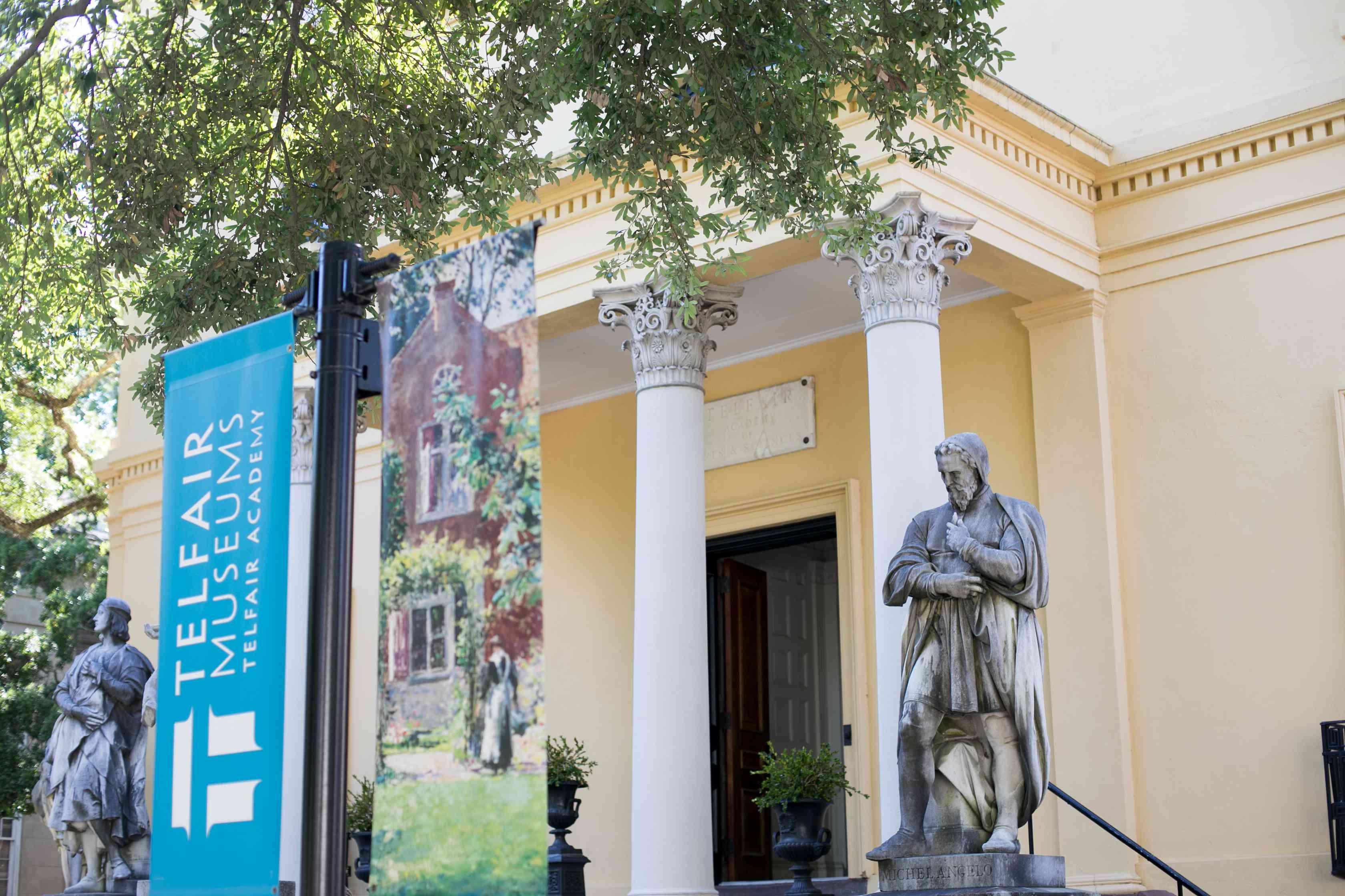 Telfair Museum of Art in Savannah, GA
