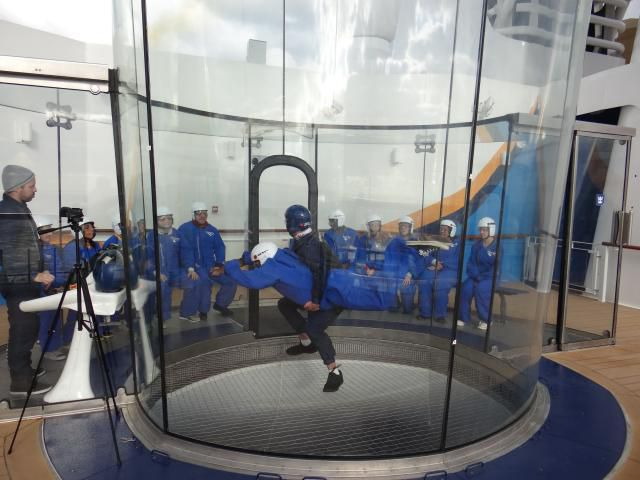RipCord by iFLY on the Quantum of the Seas