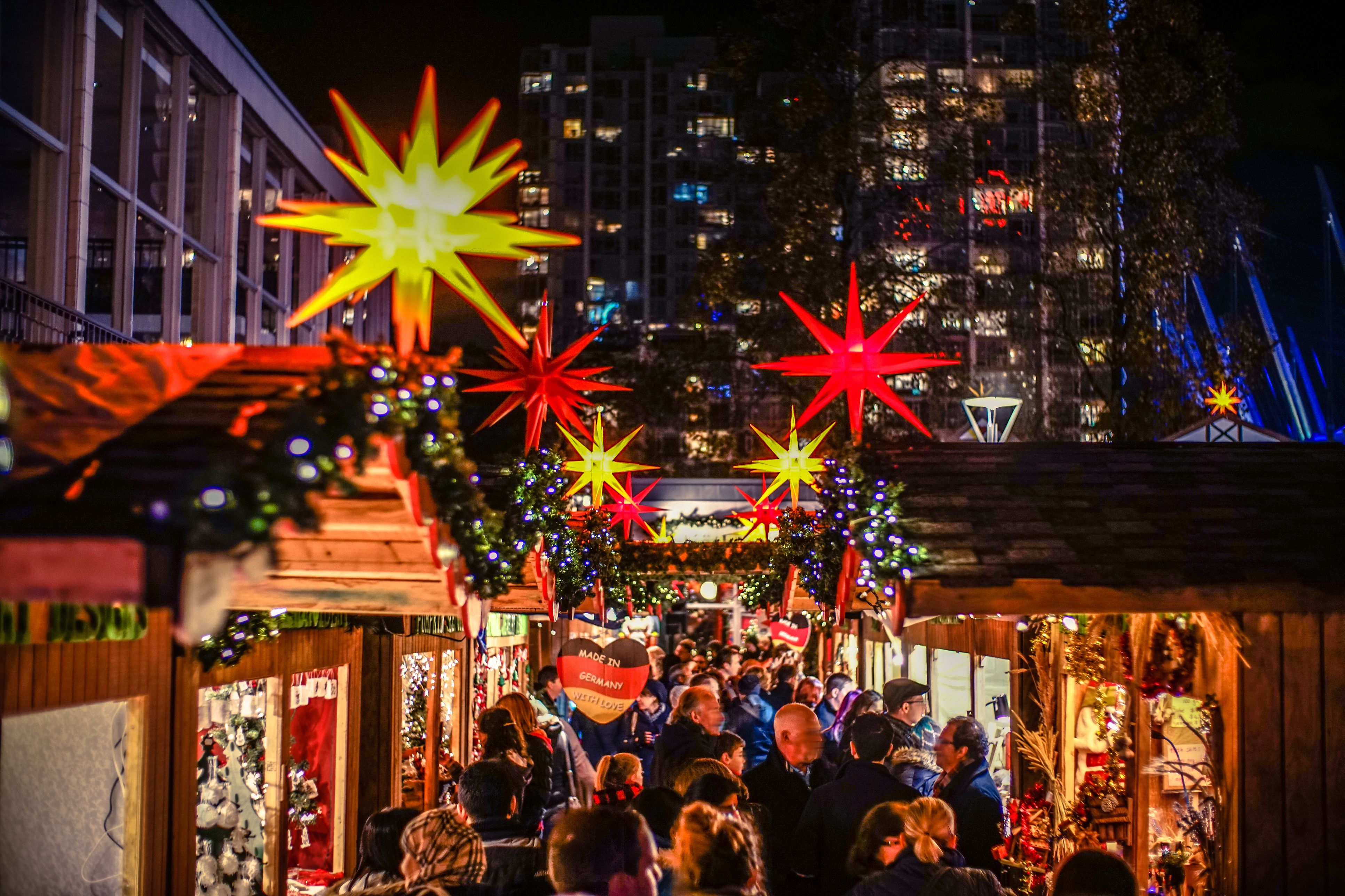 Top 5 Christmas Markets in Vancouver