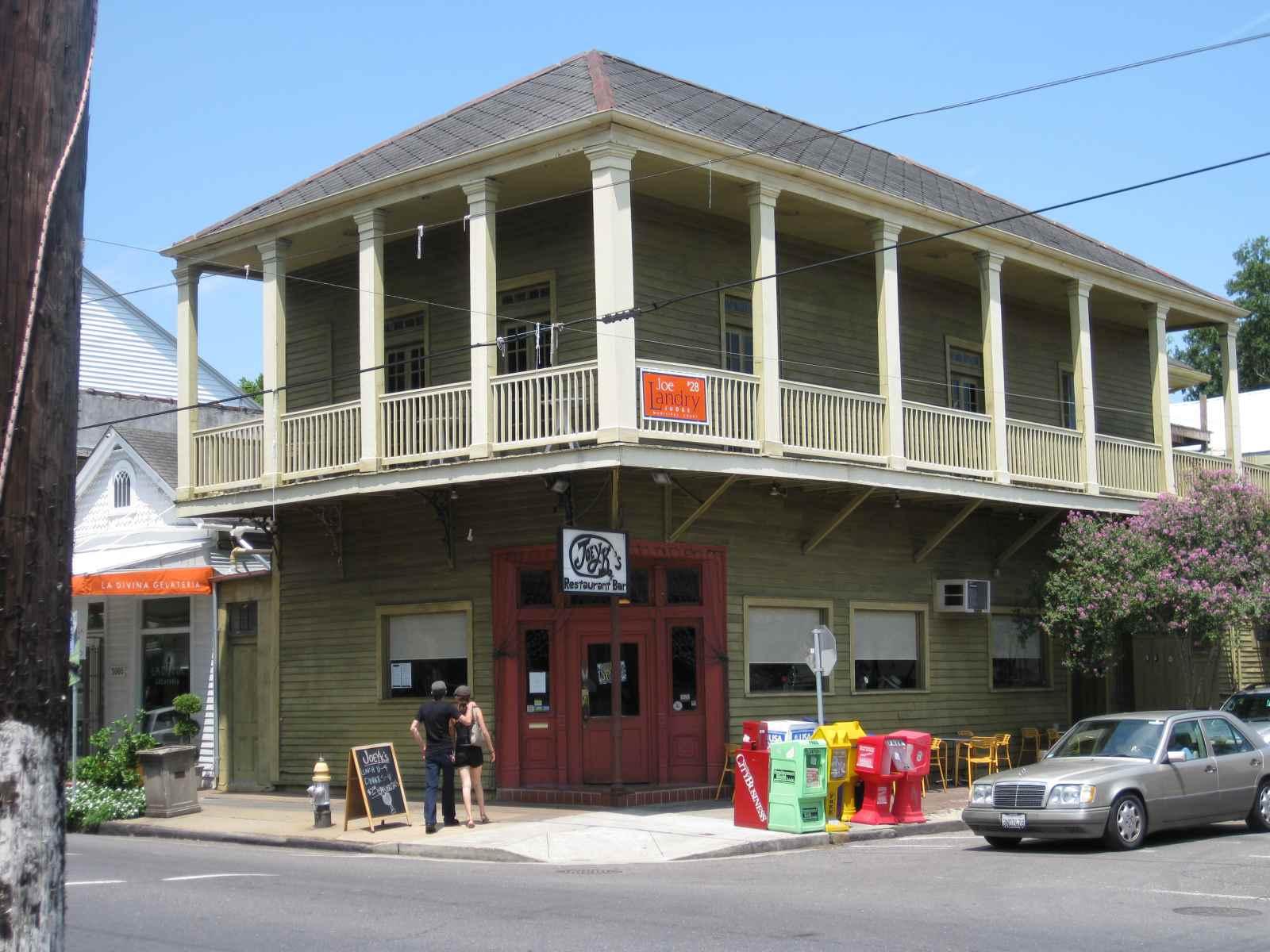 Joey K's restaurant, Magazine Street, New Orleans