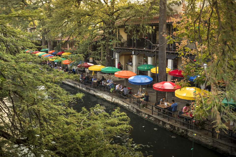 San Antonio Riverwalk canal