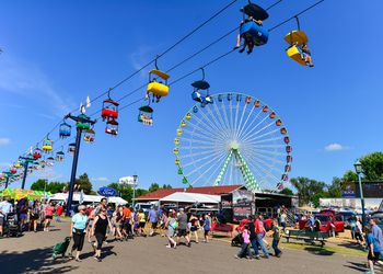 Minnesota State Fair - Rides and People