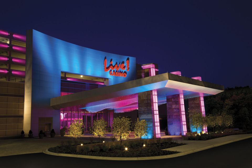 Maryland Live Casino at night