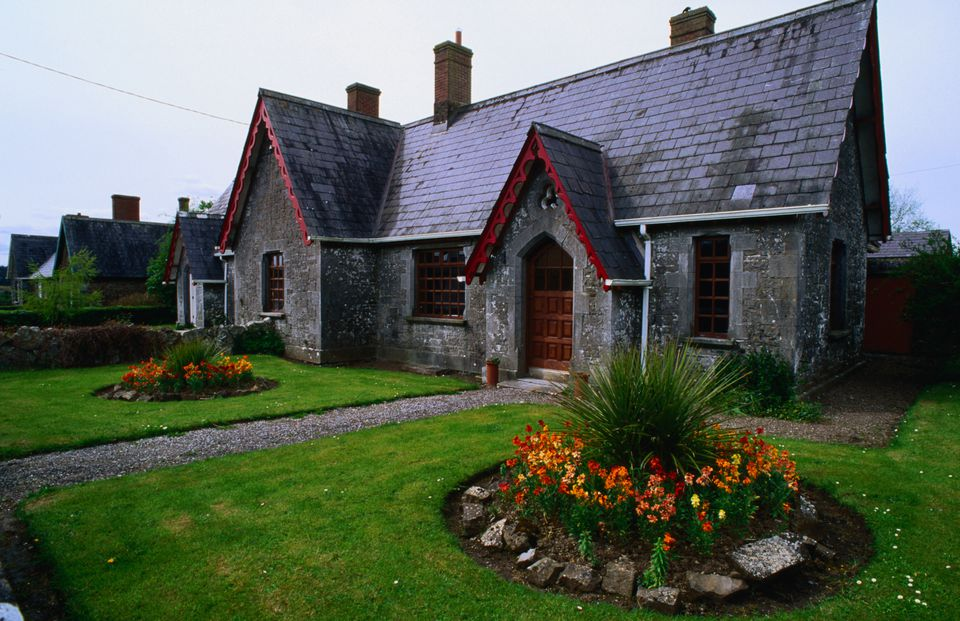 Traditional cottage in the village of Ardagh