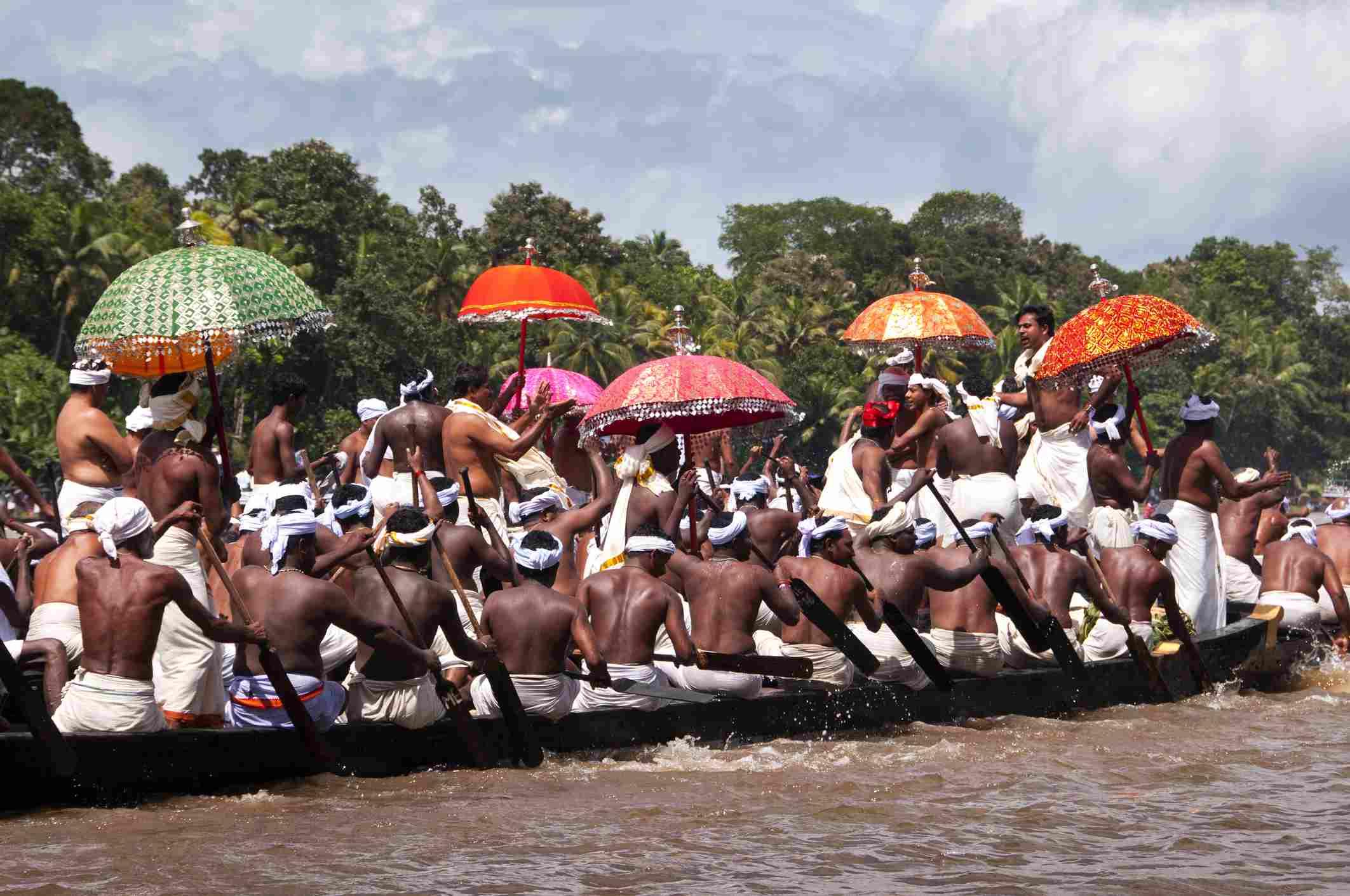 Aranmula boat race, Kerala.