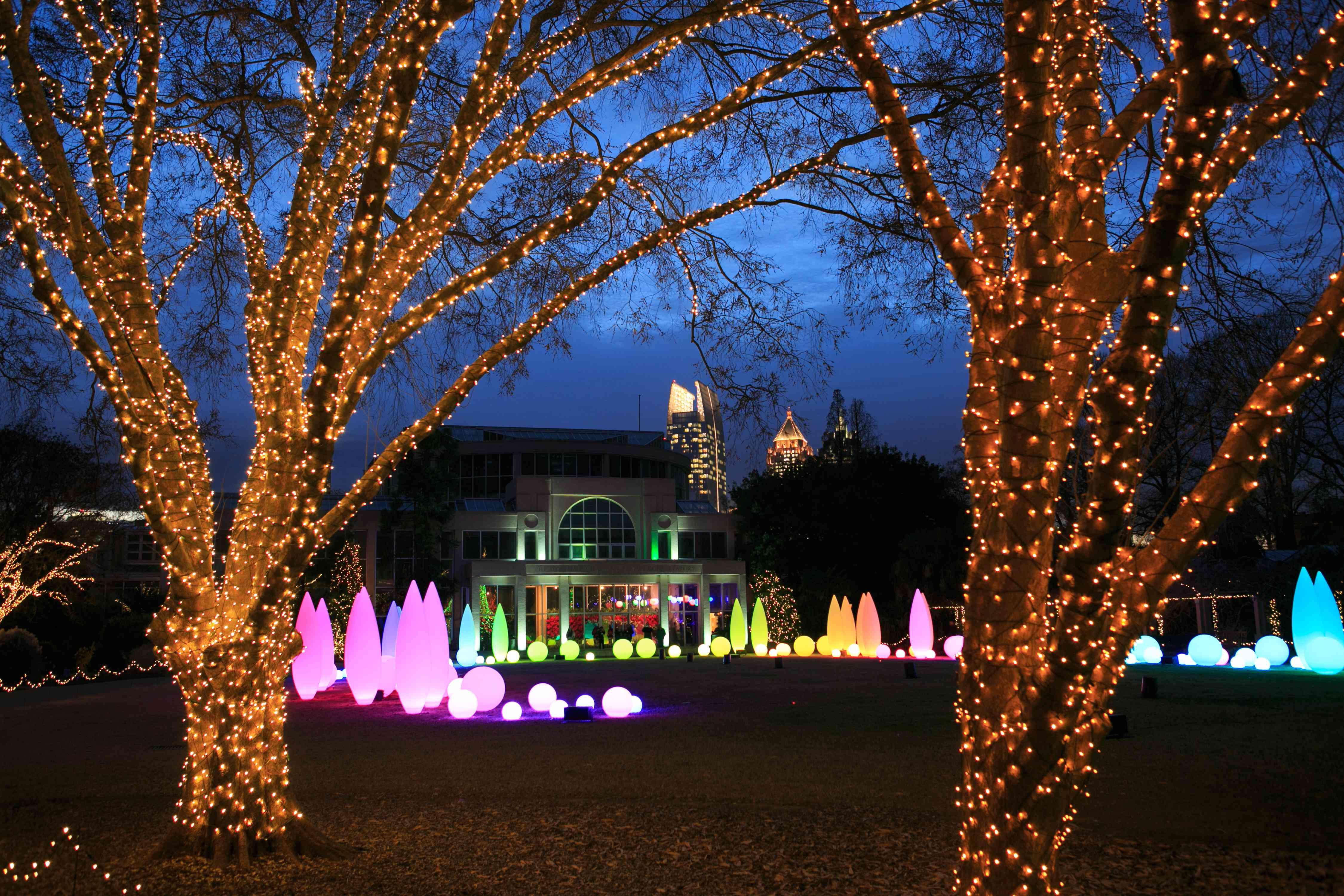Garden Nights, Holiday Lights at the Atlanta Botanical Garden
