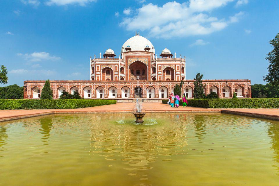 Humayun's Tomb, Delhi,