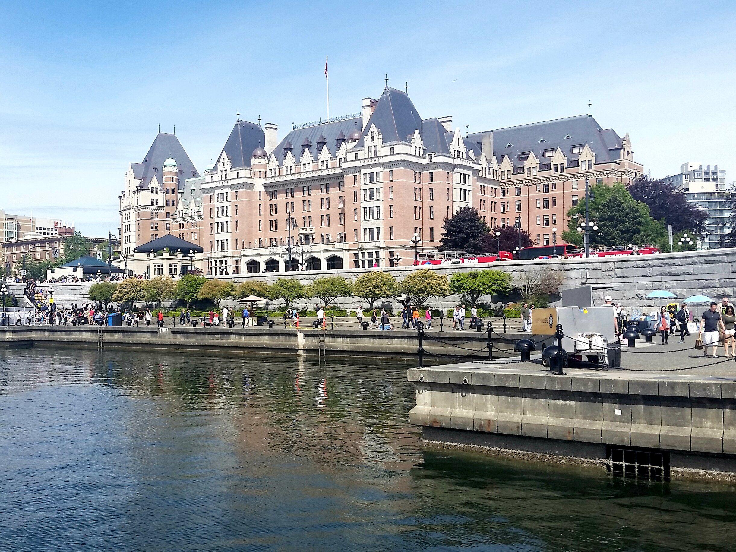 Empress Hotel in Victoria, Canada.