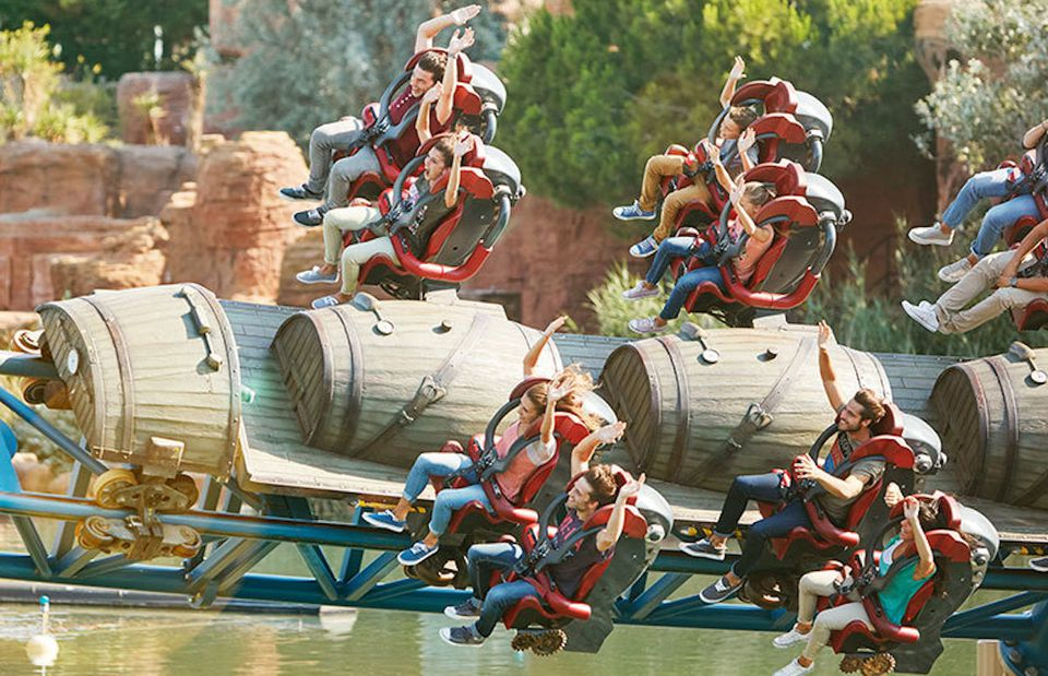 Furius Baco coaster at PortAventura
