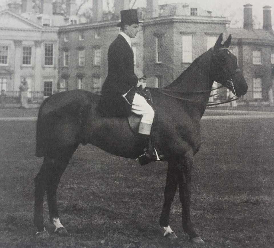 The Seventh Earl Spencer on his twenty-first birthday at Althorp, 1913