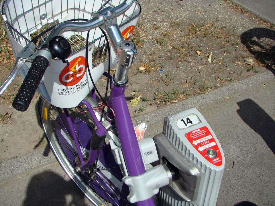 City Bike operates rentals in 120 Vienna locations.