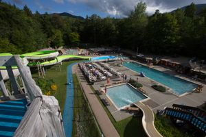 Smugglers' Notch water park Vermont