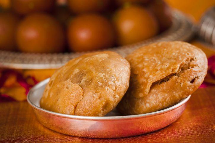 Kachori, Indian snacks.