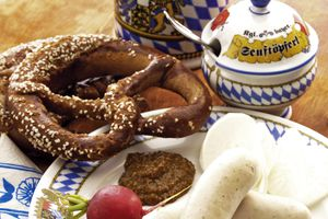Weisswurst at Bavaria