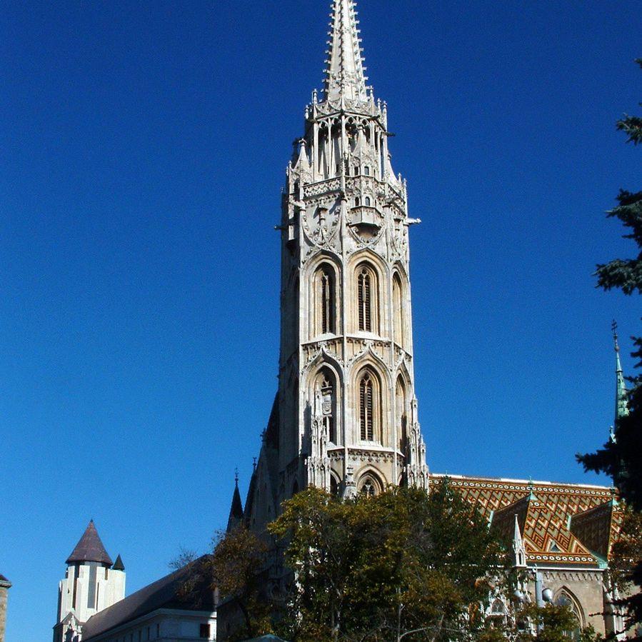 Matthias Church Steeple in Budapest, Hungary