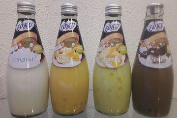 Thai sweet milk drinks