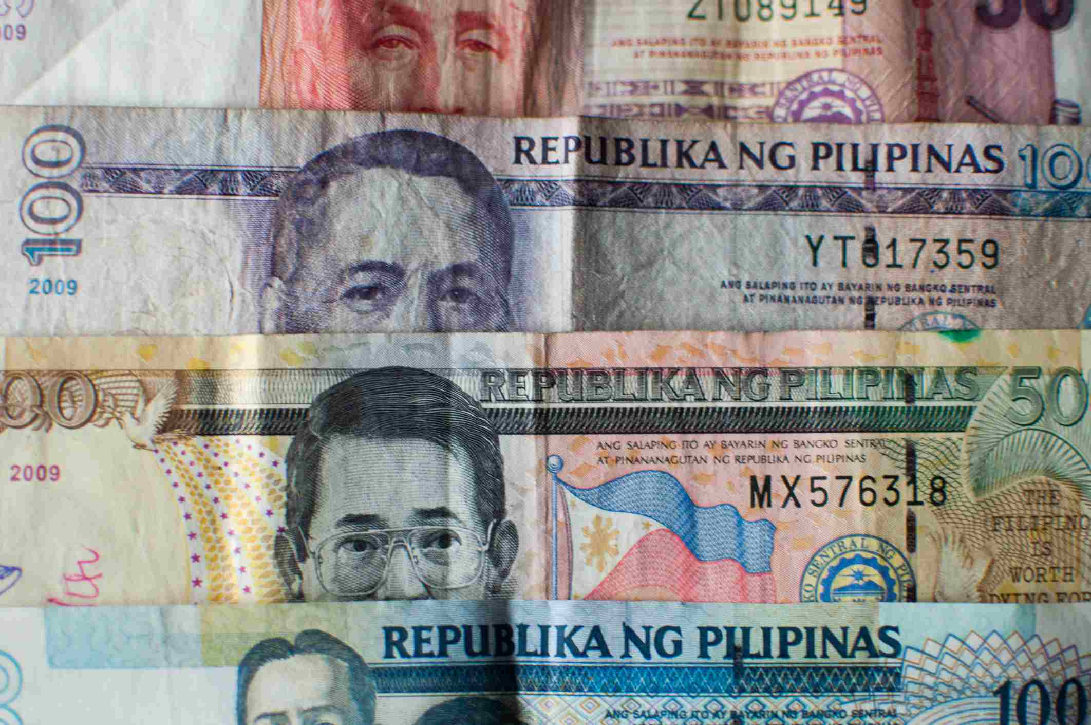 Philippine peso bills currency