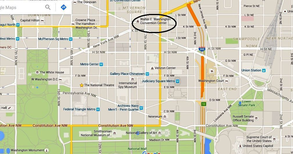 Washington Convention Center Map And Directions