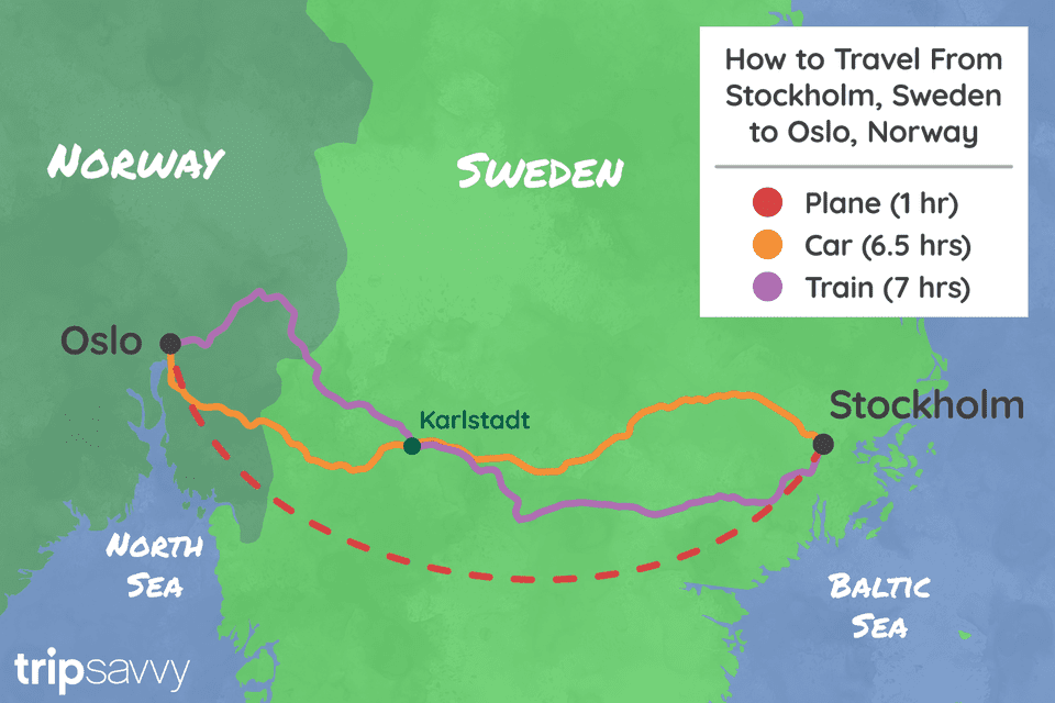 How to travel from Stockholm to Oslo